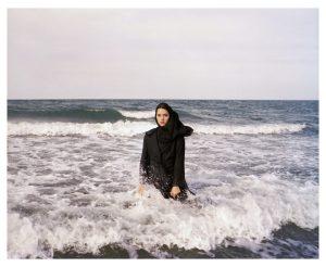 IRAN. Mahmoudabad. Caspian Sea. 2011.  Imaginary CD cover for Sahar.