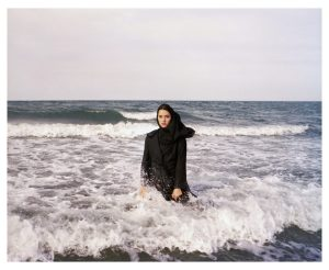 IRAN. Mahmoudabad. Caspian Sea. 2011.  Imaginary CD cover for Sahar.